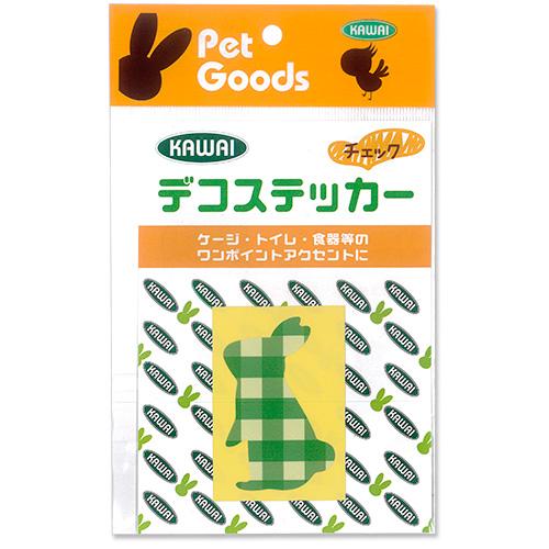 川井 デコステッカー【チェック】商品パッケージ