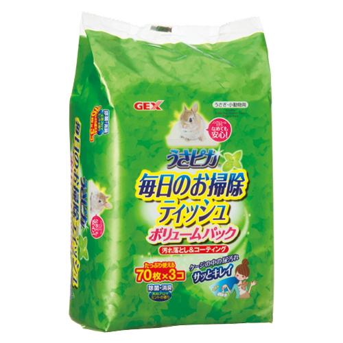 ジェックス うさピカ毎日のお掃除ティッシュ【ボリュームパック】