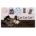 ねこ雑貨:付箋シール 江戸川物産インデックスシール【catcatcat】商品画像