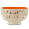 「Shinzi Katoh」デザイン  アニマル・キッド 汁碗【ウサギ】