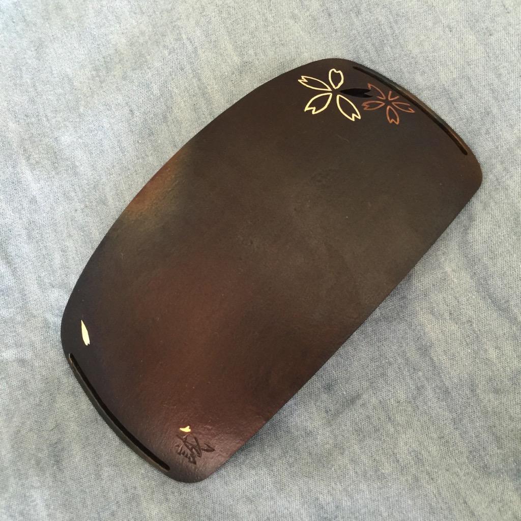 特別仕様金銀象嵌 玉鋼製鉢金 「土方モデル改」