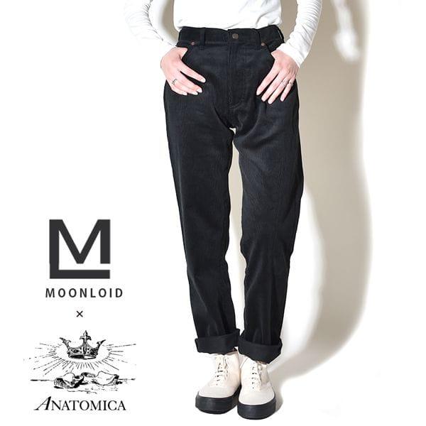 ANATOMICA アナトミカ レディース 別注 618 CORDUROY MARILYN 2 コーデュロイ マリリン2 Brisbane・Moss ブリスベンモス BLACK ブラック 黒 MADE IN JAPAN 日本製