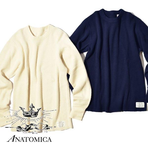 アナトミカ サーマル カットソー ANATOMICA ロンTEE レイチェルサーマル 11オンス 寒冷地仕様