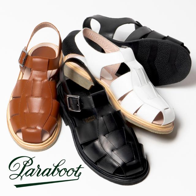 パラブーツ サンダル レディース Paraboot IBERIS イベリス グルカサンダル 革靴 本革 レザー