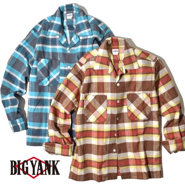ビッグヤンク U54 シャツ ネルシャツ コットンフランネル チェック BIG YANK 日本製