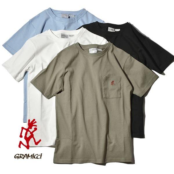 グラミチ Tシャツ ワンポイント S/S Tシャツ ポケT ポケTEE GRAMICCI ONE POINT S/S TEE 1948-STS メンズ レディース ランニングマン