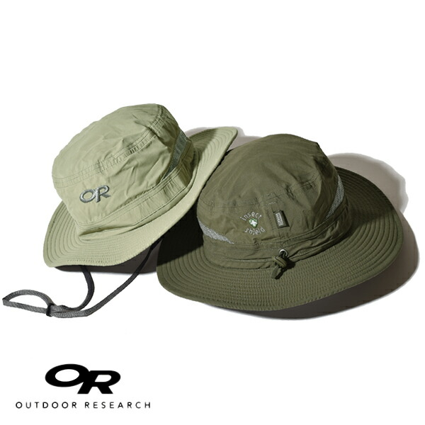 アウトドアリサーチ バグアウト ブリムハット 帽子 ハット メンズ レディース OUTDOOR RESEARCH Insect Shield UPF50+ サンプロテクション