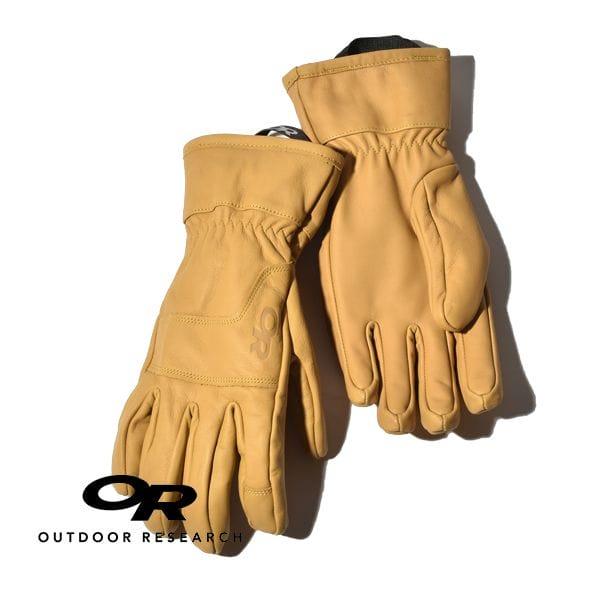 アウトドアリサーチ アクセルワークグローブ 手袋 レザー 本革 防風 耐久 OUTDOOR RESEARCH