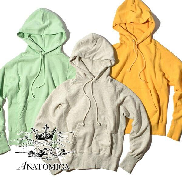 アナトミカ パーカ スウェットシャツ プルオーバ フーディ メンズ レディース ANATOMICA SWEAT SHIRTS P/O HOOD