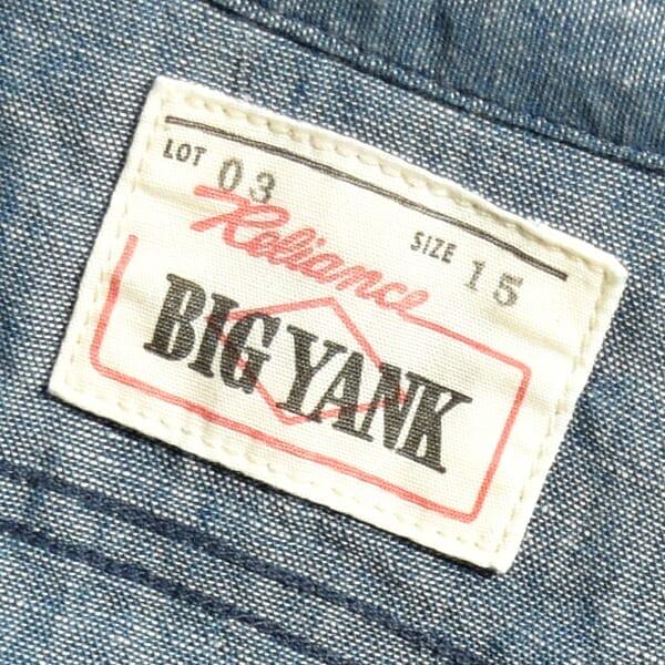 【送料無料】BIG YANK ビッグヤンク FLYER SHIRTS フライヤーシャツ 日本製 MADE IN JAPAN