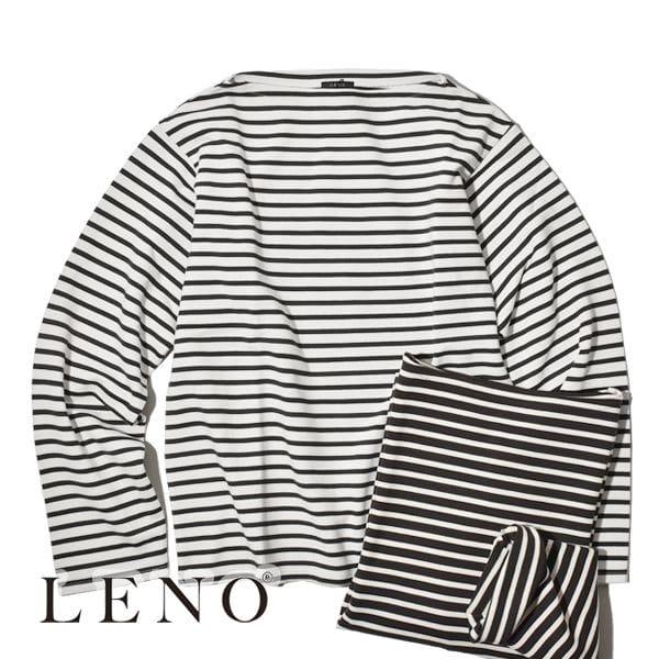 LENO/バスクシャツ ボーダー BASQUE SHIRT BORDER リノ カットソー レディース メンズ ユニセックス
