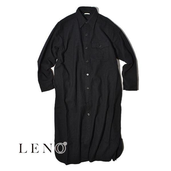 【SALE】LENO リノ CPO SHIRT DRESS シャツドレス レディース