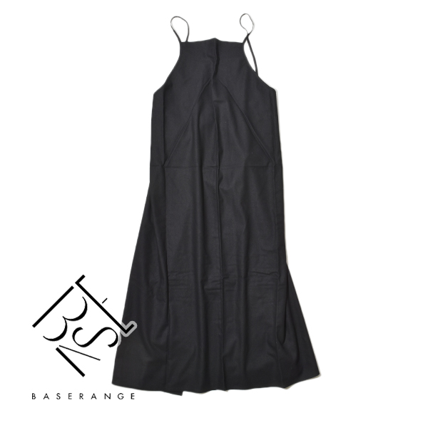 Baserange ベースレンジ シルク ユミ エプロンドレス エプロンワンピース ドレス ワンピース YUMI APRON DRESS レディース