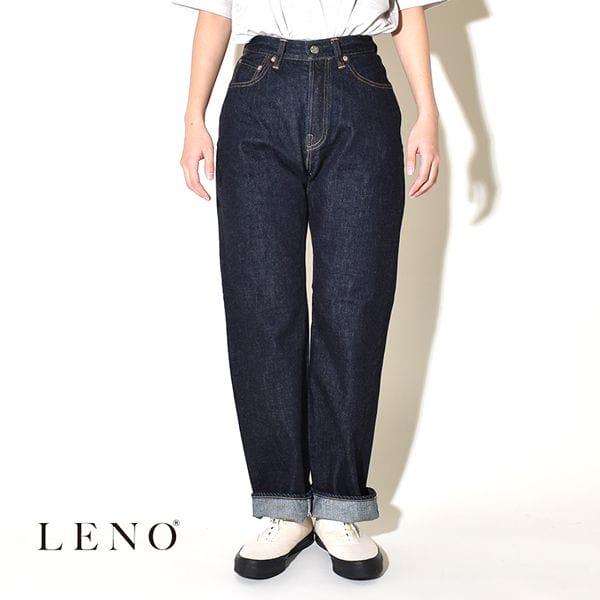 """LENO リノ""""BRIGITTE"""" STRAIGHT JEANS ブリジット ストレート ジーンズ デニムパンツ"""