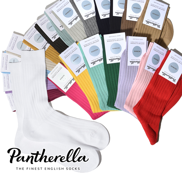 パンセレラ レディース 靴下 コットン 5×3リブ ソックス ビジネスソックス J5392 PANTHERELLA WOMENS