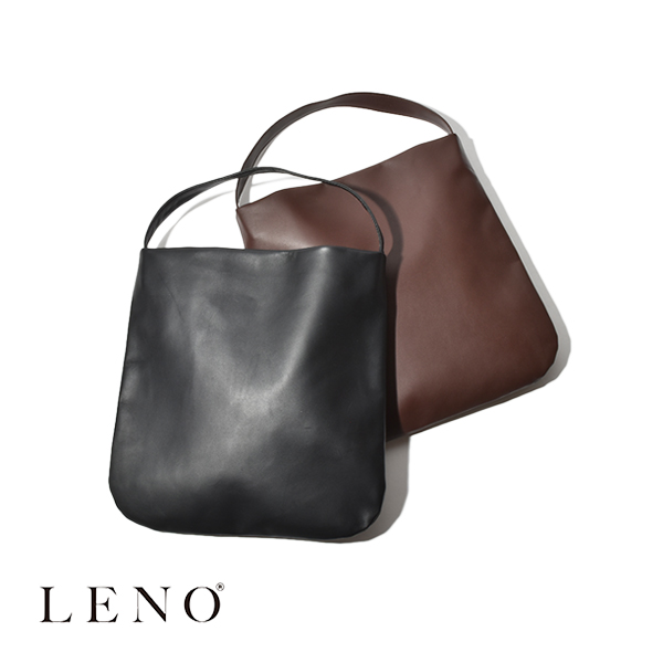 【P5倍】LENO リノ レザートート トートバッグ スモール LEATHER TOTE SMALL