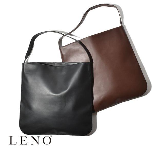 【P5倍】LENO リノ レザートート トートバッグ ミディアム LEATHER TOTE MIDIUM