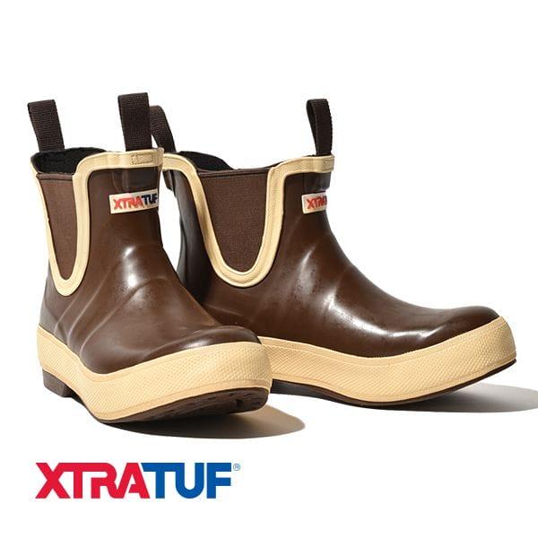 エクストラタフ XTRATUF サイドゴア ブーツ レガシーデッキブーツ 長靴 ショート丈 レガシーコレクション Legacy Deck Boot メンズ レディース ユニセックス