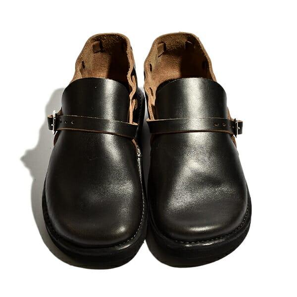 フェルナンドレザー オーロラシューズ メンズ Middle English ミドルイングリッシュ スリッポン サンダル 革靴 ホーウィン社