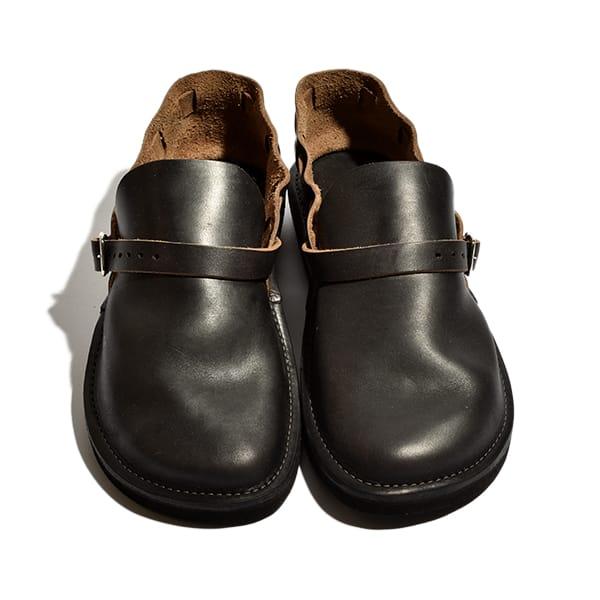 フェルナンドレザー オーロラシューズ レディース Middle English ミドルイングリッシュ スリッポン サンダル 革靴 ホーウィン社