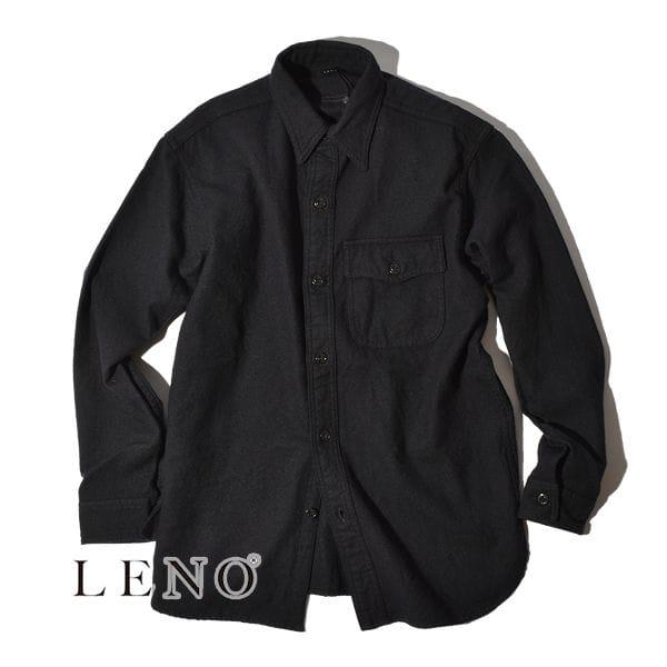 【SALE】LENO リノ CPO SHIRT シャツ ユニセックス