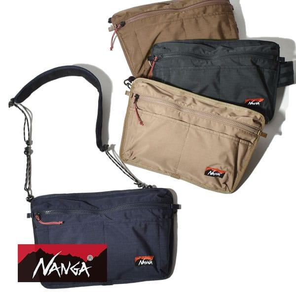 ナンガ タキビ サコッシュ ショルダーバッグ 燃えにくい キャンプ NANGA TAKIBI SACOCHE 日本製