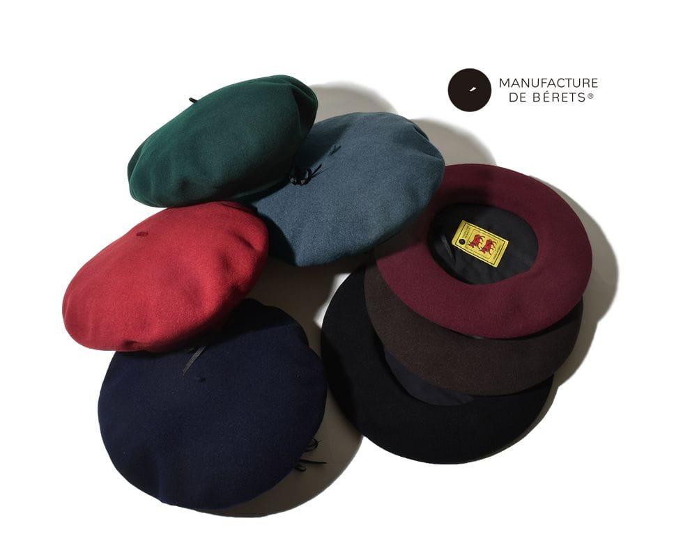 マニファクチュール デュ ベレー ベレー帽 フランス製 manufacture de berets