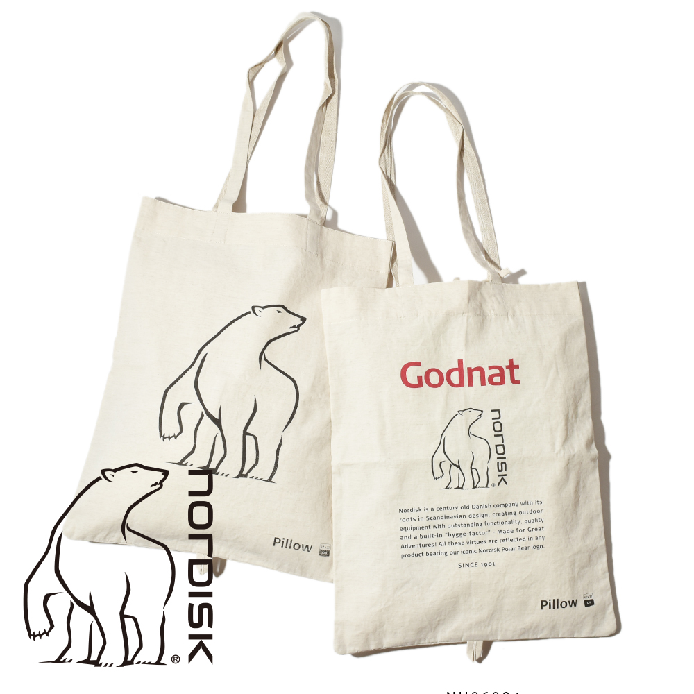 NORDISK ノルディスク ピロー トートバッグ バッグ PILLOW TOTE BAG  NU06011 NU07007