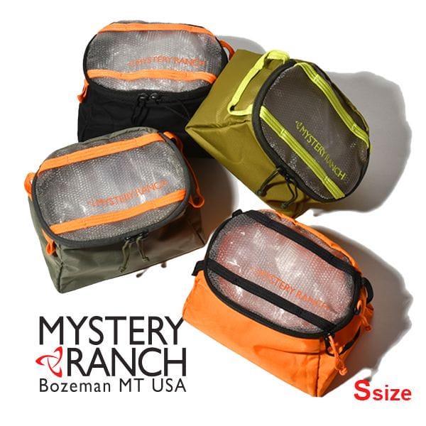 【P3倍】MYSTERY RANCH ミステリーランチ ゾイドキューブ スモール ZOID CUBE SMALL Sサイズ HUNTER BLACK FOLIAGE LIZARD TECHNO VICE 黒 オリーブ グレー オレンジ