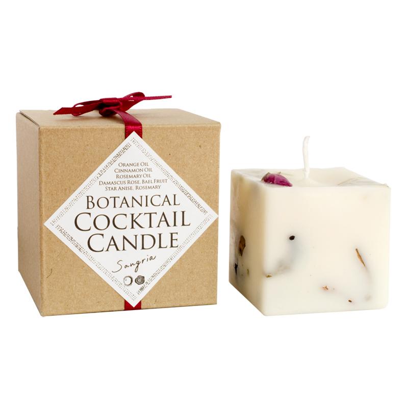 ボタニカルカクテルキャンドル サングリア [BotanicalCocktailCandle Sangria]