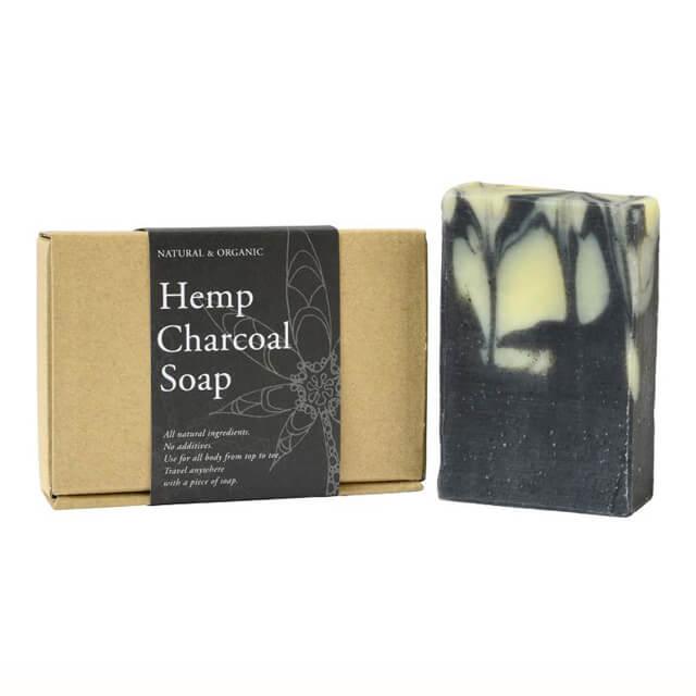 ヘンプチャコールソープ [Hemp Charcoal Soap]