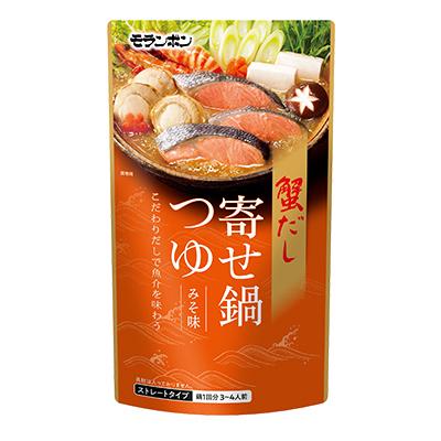 蟹だし寄せ鍋つゆ みそ味