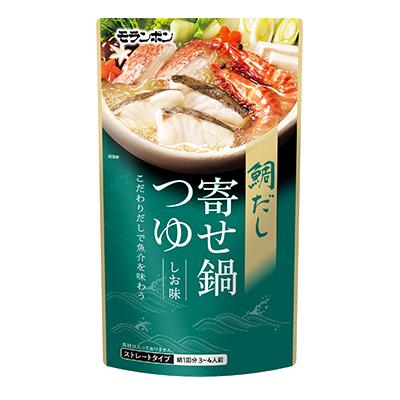 鯛だし寄せ鍋つゆ しお味