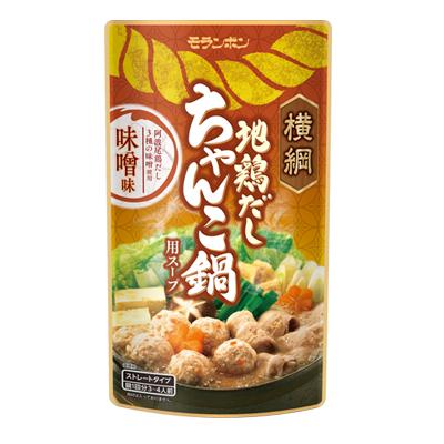 横綱 地鶏だし ちゃんこ鍋用スープ 味噌味