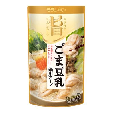 コク旨スープがからむ ごま豆乳鍋用スープ