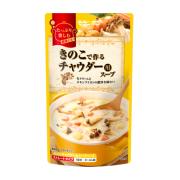きのこで作るチャウダー用スープ