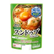 減塩スンドゥブチゲ用スープ 濃厚マイルド