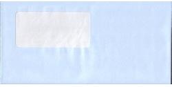 弥生 333101 窓付封筒アクア(水色)200枚
