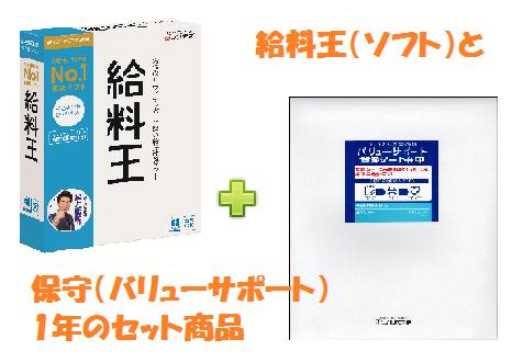 【セット】ソリマチ 給料王20+ バリューサポート1年(年間保守)