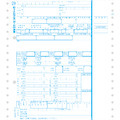 応研 KY-463 源泉徴収票(連続用紙)  100人分 (平成28年度)【2016年11月21日より 出荷開始!】