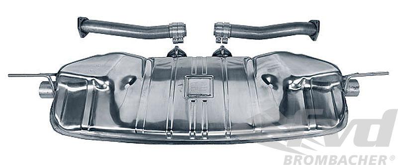 955カイエンS・スポーツマフラーFVD Sport Exhaust