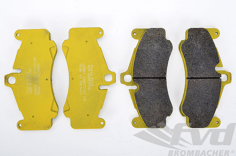 ポルシェ 997ターボ 997GT3 997GT3Cup PAGID Racing Brake Pads RSL29