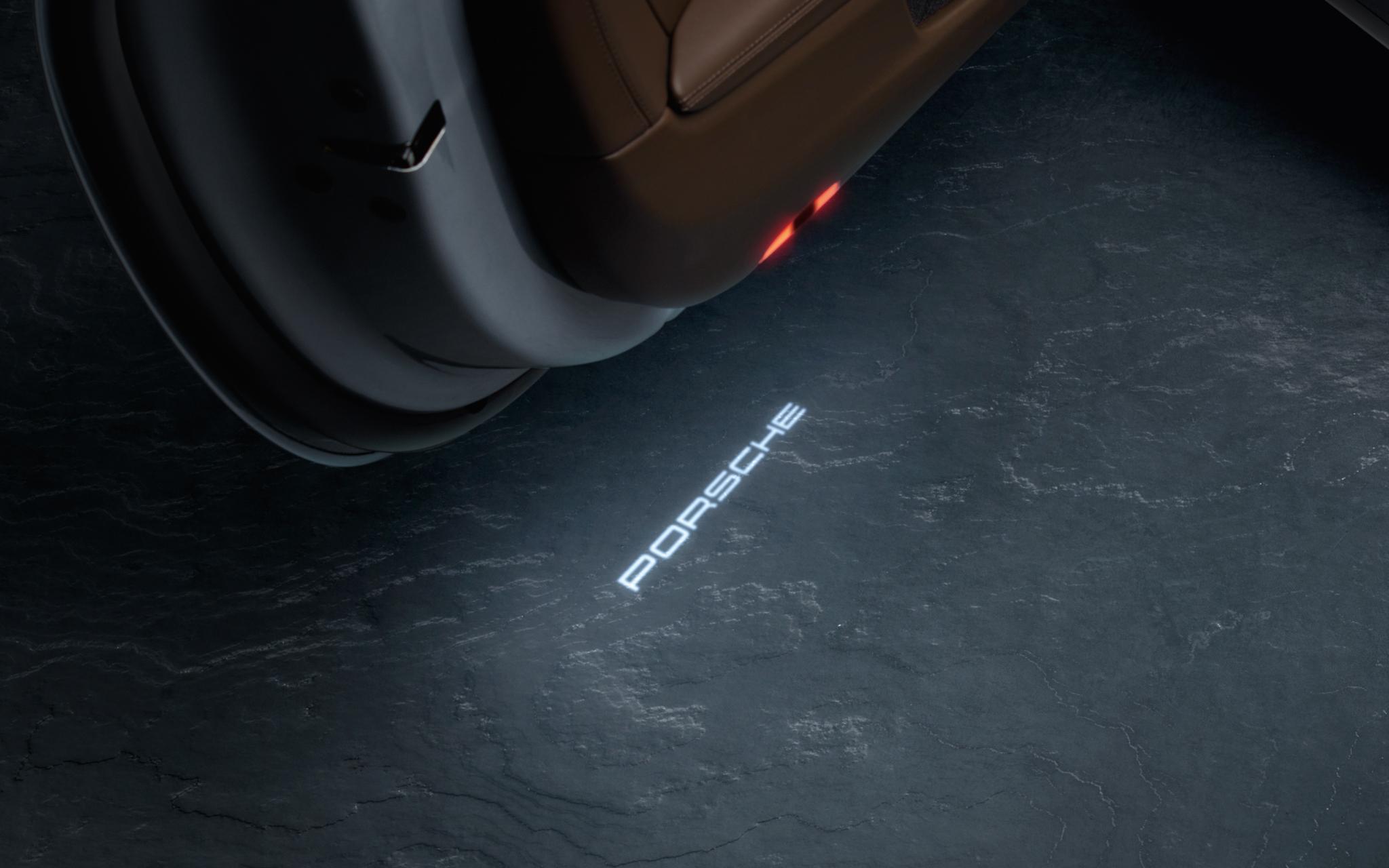 ポルシェ 991各モデル LEDプロジェクタードアライト Projector LED Door Light