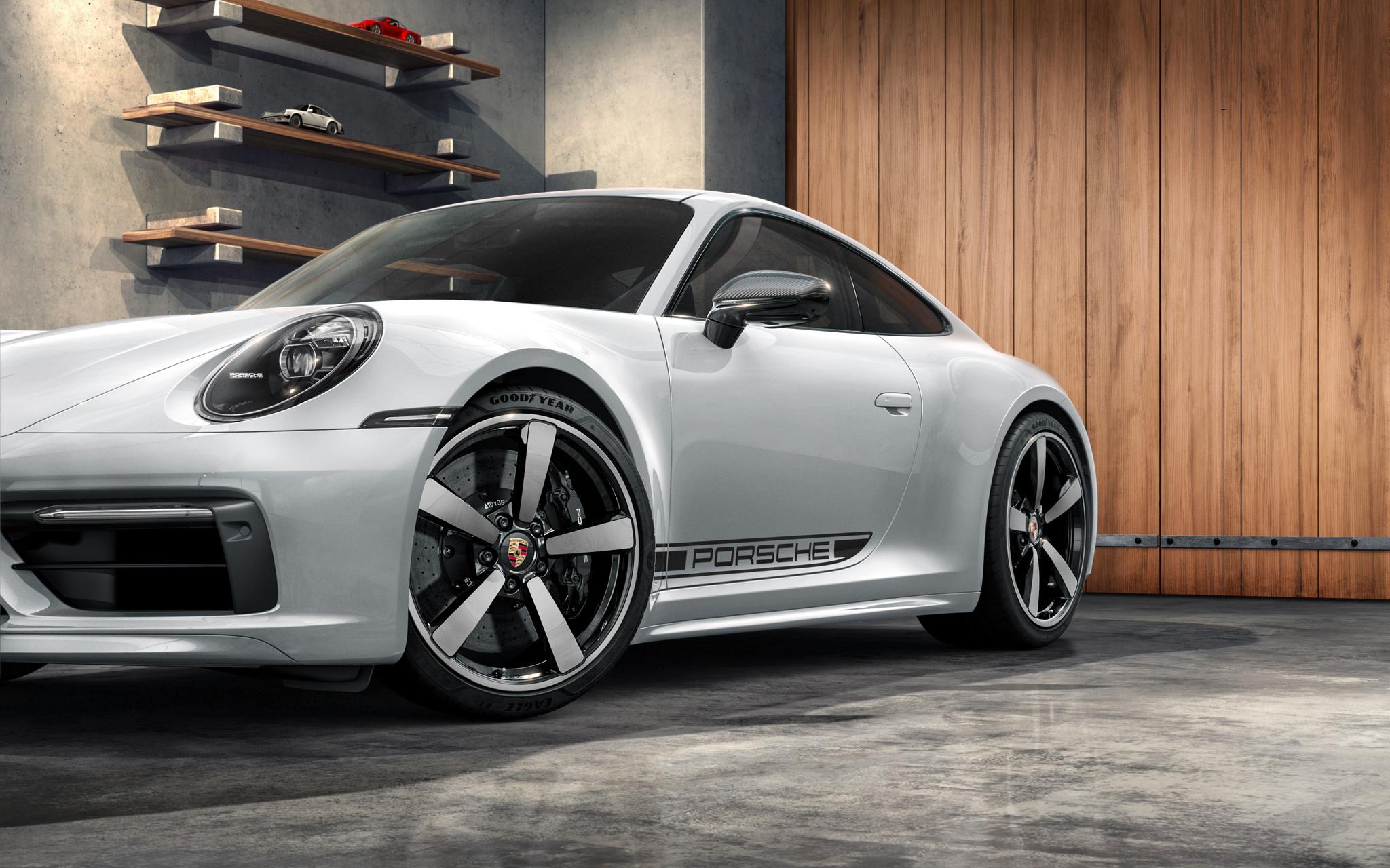 """ポルシェ 992各モデル サイドデカール""""PORSCHE""""ロゴ Side Decal Porsche Logo"""