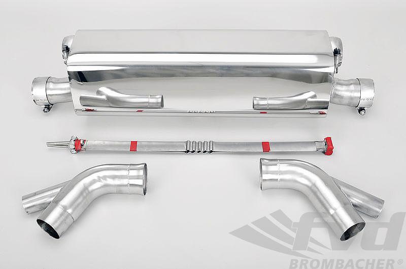 """【991.2ターボスポーツマフラー】FVD Sport Muffler """"Brombacher"""" Sound Version 991.2 Turbo"""