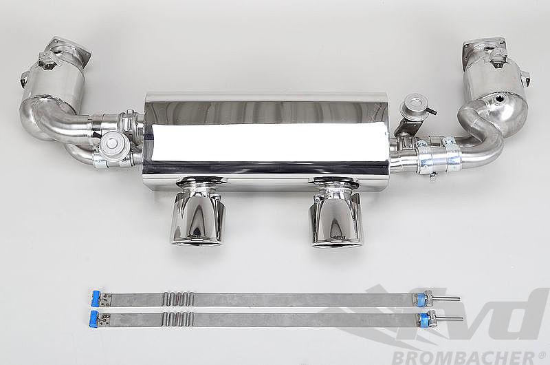 991.2カレラ/カレラS・可変バルブマフラーFVD Valved Exhaust System Brombacher Edition