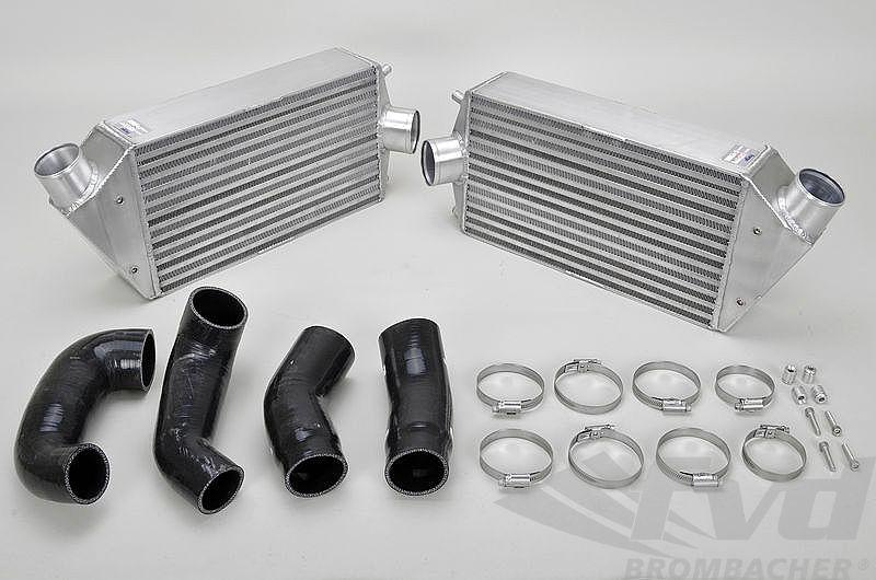 """997ターボインタークーラーMotorsport Intercooler Kit """"FVD"""" 997 Turbo&GT2"""