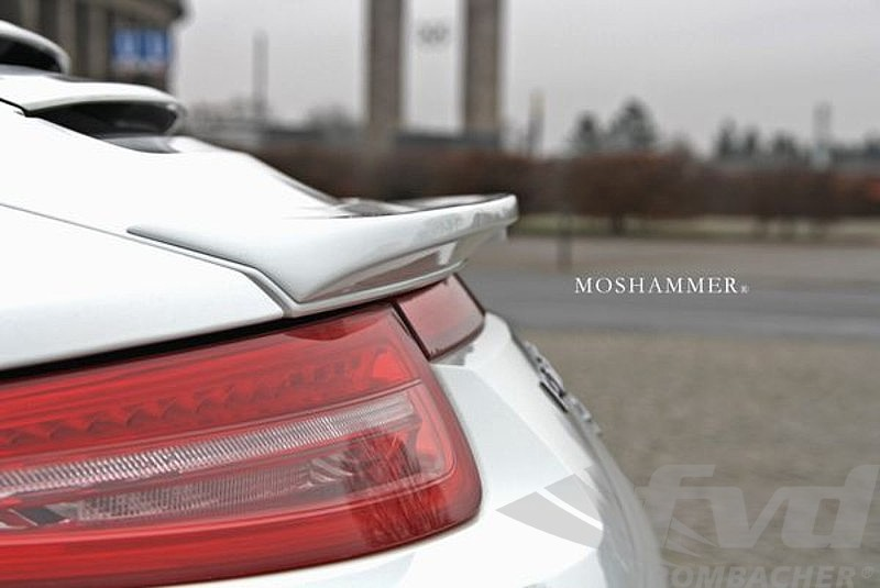 ポルシェ・991カレラ各モデル モシャマー・リッドスポイラー Moshammer Lid Spoiler