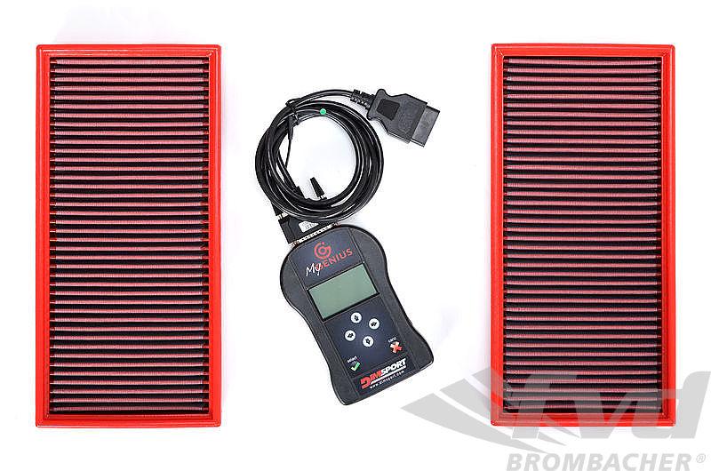 958カイエンターボ・ECUチューニングキットFVD Brombacher Software & BMC