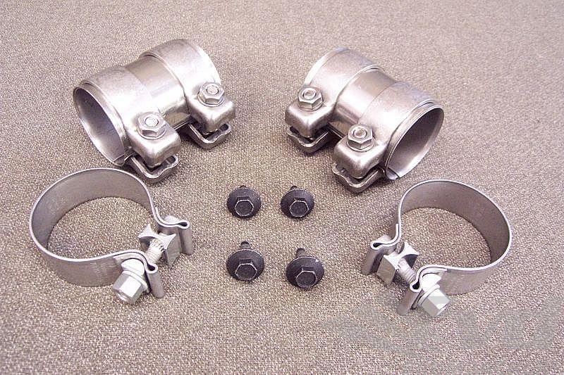 955カイエンS・マフラージョイントFVD Installation kit for muffler